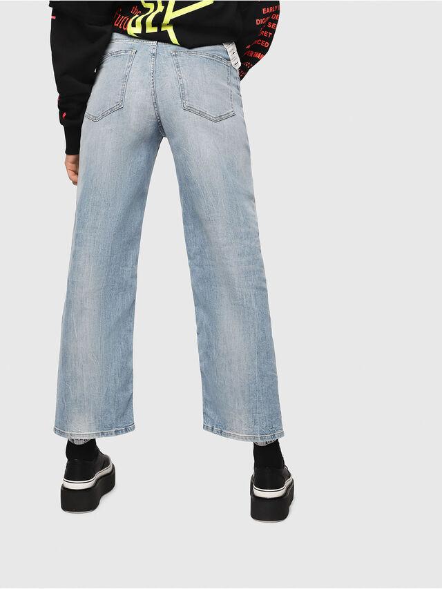 Diesel - Widee 081AL, Blu Chiaro - Jeans - Image 2
