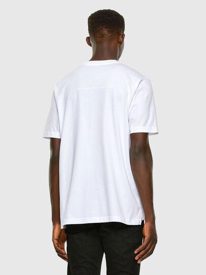 Diesel - T-JUST-SLITS-X83, Bianco - T-Shirts - Image 6