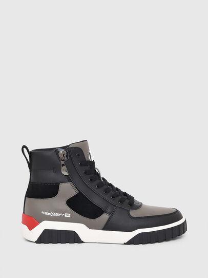 Diesel - S-RUA MID SK, Grigio - Sneakers - Image 1