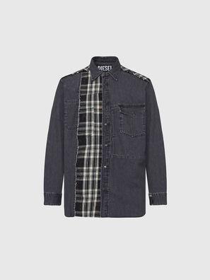 D-FINLY, Grigio scuro - Camicie in Denim