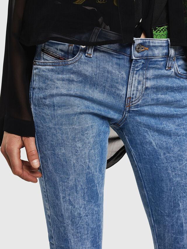 Diesel - Gracey JoggJeans 0870P, Blu Chiaro - Jeans - Image 3
