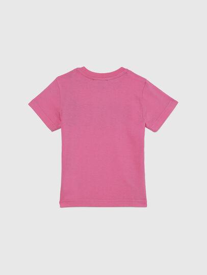 Diesel - TJUSTLOGOB-FL MC, Rosa - T-shirts e Tops - Image 2