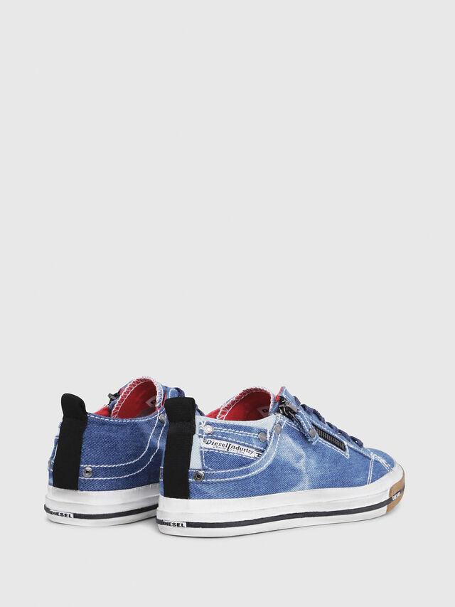 Diesel - EXPO-ZIP LOW W, Blu Jeans - Sneakers - Image 3