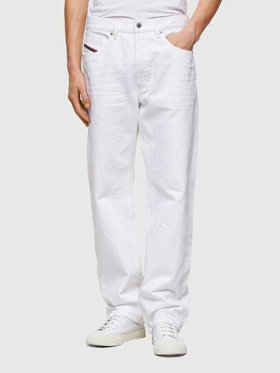 Diesel - D-Macs 0ABBY, Bianco - Jeans - Image 1