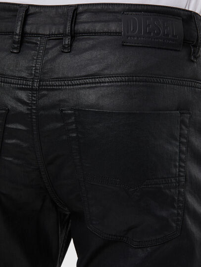 Diesel - Krooley JoggJeans 0849R, Nero/Grigio scuro - Jeans - Image 4