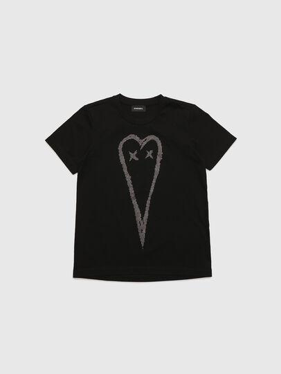 Diesel - TSILYHEART, Nero - T-shirts e Tops - Image 1