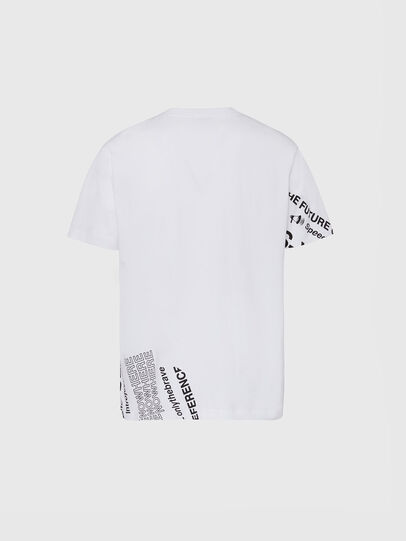 Diesel - T-JUST-FOLDED, Bianco - T-Shirts - Image 2