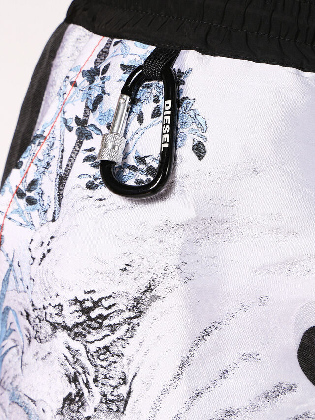 Diesel - P-GROUND, Bianco - Shorts - Image 5