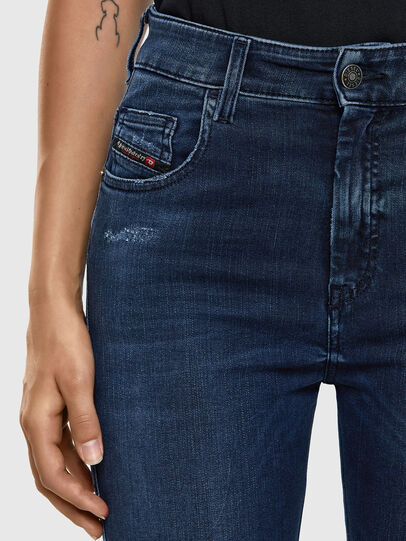 Diesel - Slandy High 009LR, Blu medio - Jeans - Image 4