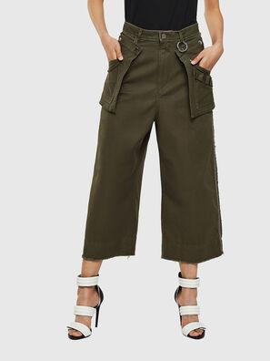 P-RAEY, Verde Militare - Pantaloni