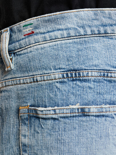 Diesel - D-Vider 009JR, Blu Chiaro - Jeans - Image 5