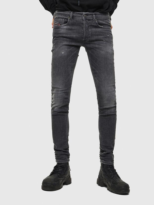 Sleenker 069JR, Nero/Grigio scuro - Jeans