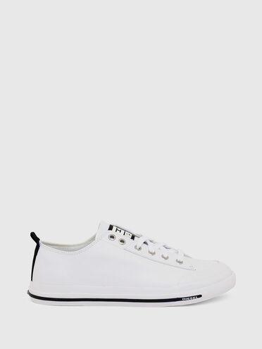 Sneaker basse in pelle con logo D