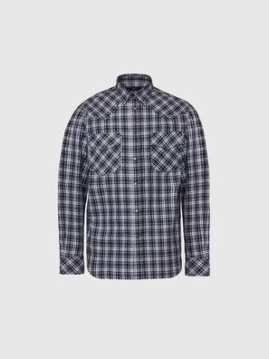S-EAST-LONG-O, Nero/Bianco - Camicie