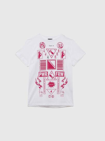 Diesel - TDARIAE, Bianco - T-shirts e Tops - Image 1