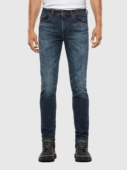 Diesel - Thommer 009DA, Blu Scuro - Jeans - Image 1