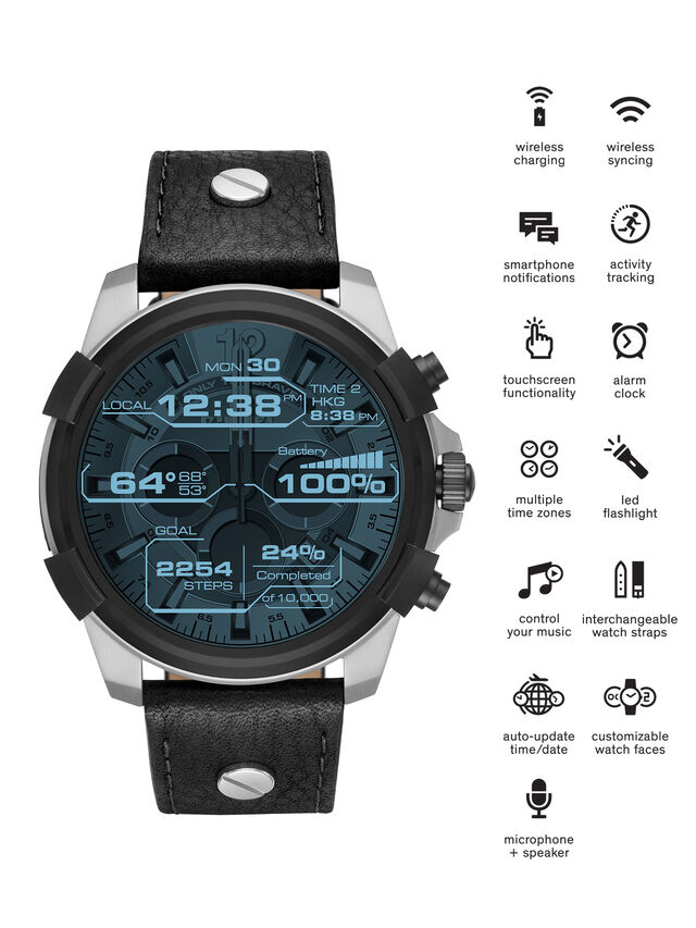 Diesel - DT2001, Nero - Smartwatches - Image 1