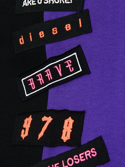 Diesel - DINIS, Nero/Viola - Vestiti - Image 3