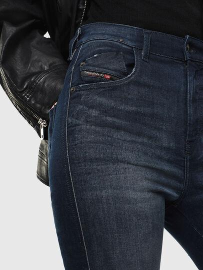 Diesel - Slandy High 0870C, Blu Scuro - Jeans - Image 3
