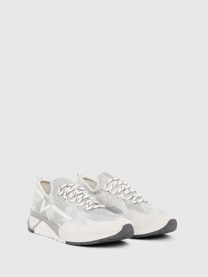 Diesel - S-KBY, Grigio/Bianco - Sneakers - Image 2
