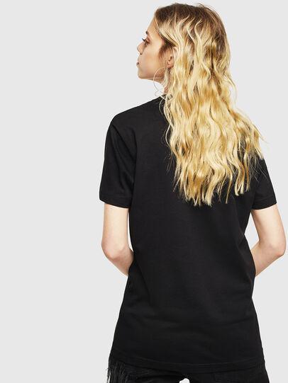 Diesel - T-DIEGO-LOGO, Nero - T-Shirts - Image 4