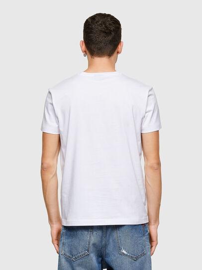 Diesel - T-DIEGOS-E30, Bianco - T-Shirts - Image 2