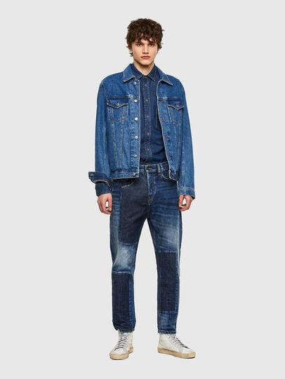 Diesel - D-Vider 009NJ, Blu medio - Jeans - Image 6