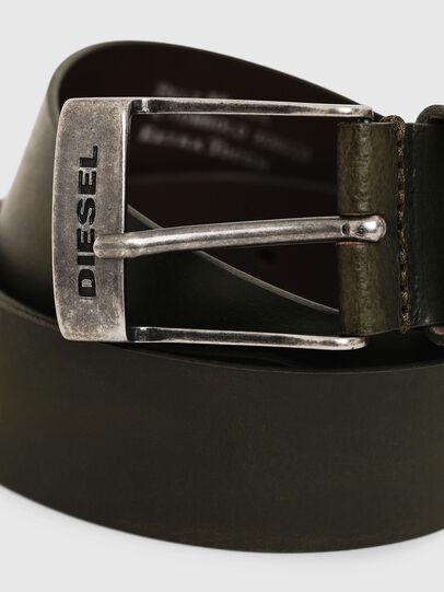 Diesel - B-TOMBOLO, Verde Scuro - Cinture - Image 2
