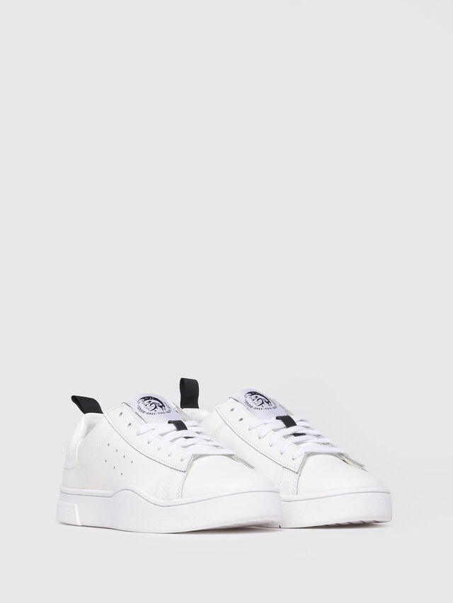 Diesel - S-CLEVER LOW W, Bianco - Sneakers - Image 2