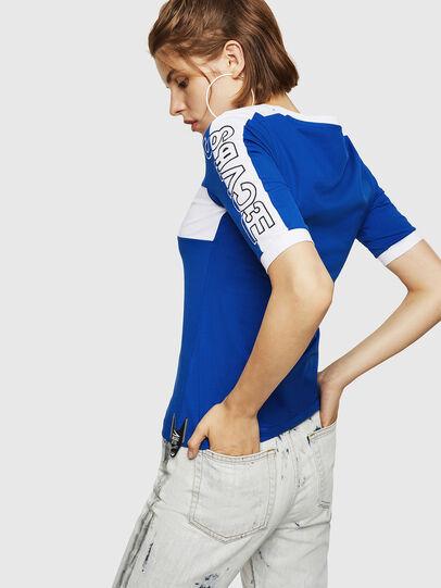 Diesel - T-HEIA-B, Blu Brillante - T-Shirts - Image 2