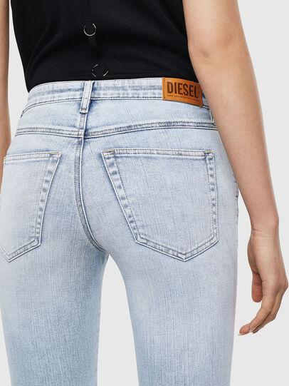 Diesel - Babhila 009AC, Blu Chiaro - Jeans - Image 5