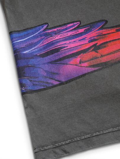 Diesel - D-5055-G, Nero - T-Shirts - Image 6