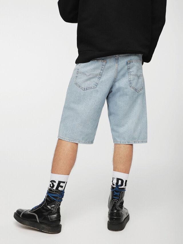Diesel KEESHORT, Blu Chiaro - Shorts - Image 2