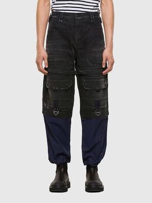 D-MULTY-SP, Nero/Blu - Jeans
