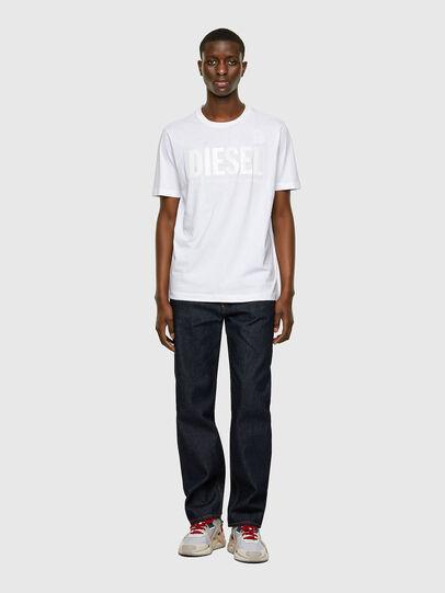 Diesel - T-JUST-INLOGO, Bianco - T-Shirts - Image 4