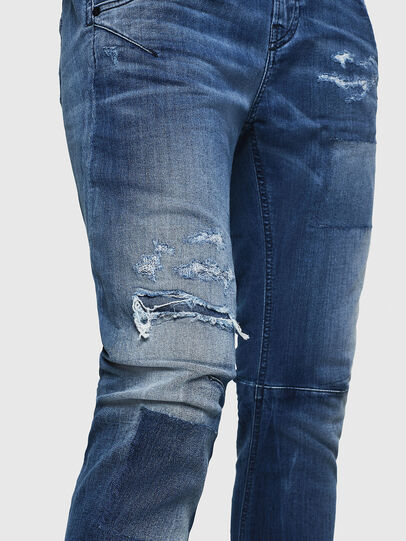 Diesel - Fayza JoggJeans 069HB, Blu medio - Jeans - Image 5