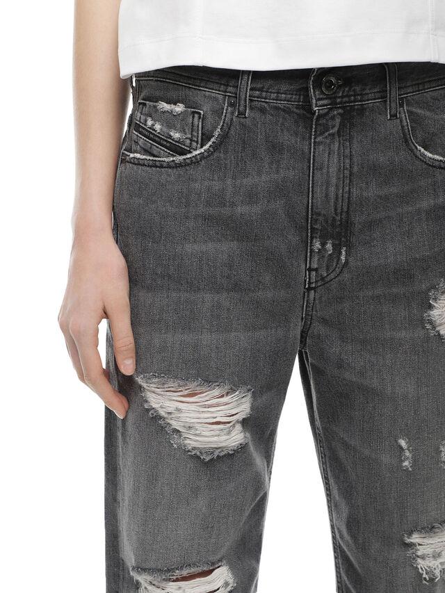 Diesel - TYPE-1815-RE, Grigio Jeans - Jeans - Image 4