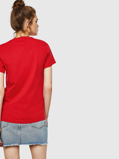 Diesel - T-SILY-ZF, Rosso Fuoco - T-Shirts - Image 2