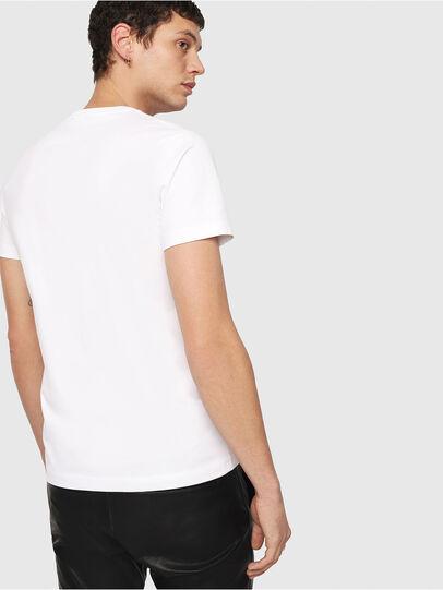 Diesel - T-DIEGO-QA, Bianco - T-Shirts - Image 2