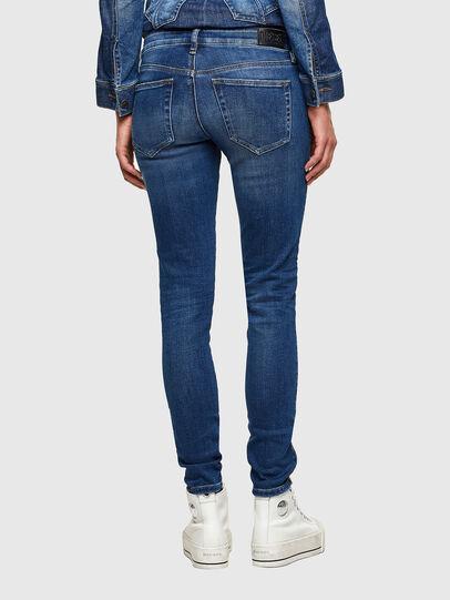 Diesel - Slandy Low 009PU, Blu medio - Jeans - Image 2