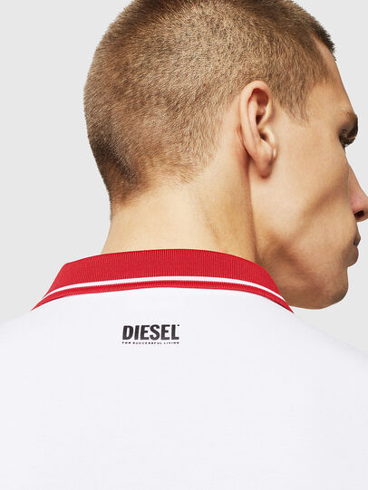 Diesel - LR-T-HART-VIC, Bianco - Polo - Image 4