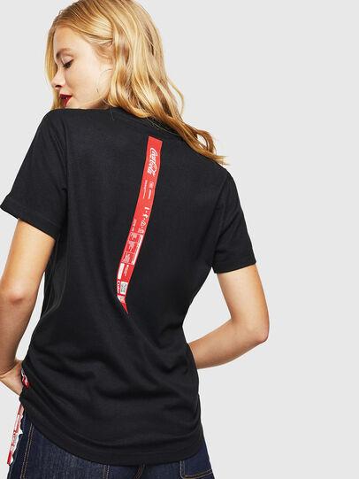 Diesel - CC-T-DIEGO-COLA, Nero - T-Shirts - Image 4
