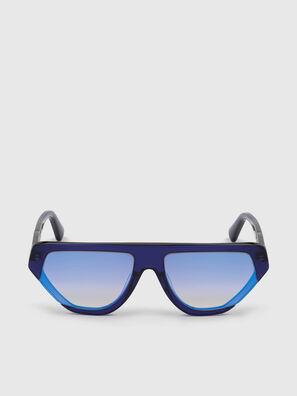DL0322, Blu - Occhiali da sole