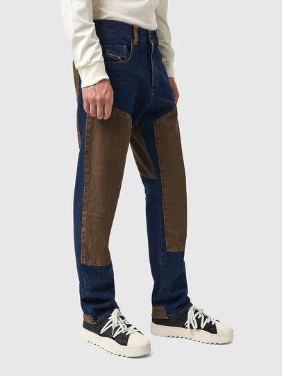 Diesel - D-Viker 0AFAK, Blu Scuro - Jeans - Image 4