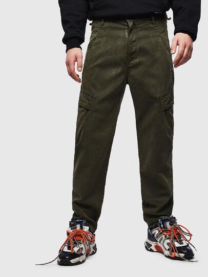 Diesel - D-Krett JoggJeans® 069LX, Verde Militare - Jeans - Image 1