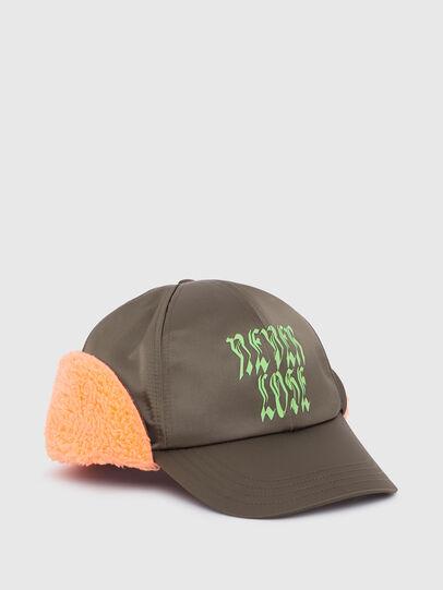 Diesel - CIFUR, Verde Militare - Cappelli - Image 1
