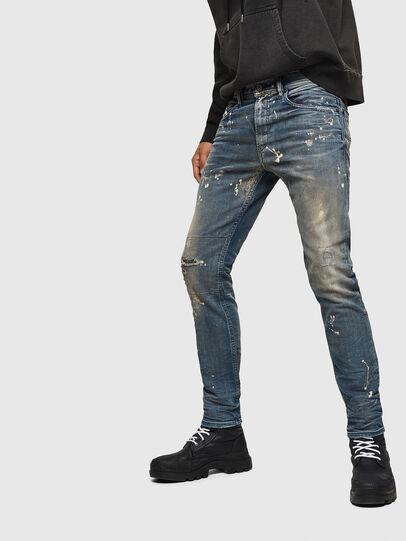 Diesel - Thommer JoggJeans 0870X, Blu medio - Jeans - Image 5