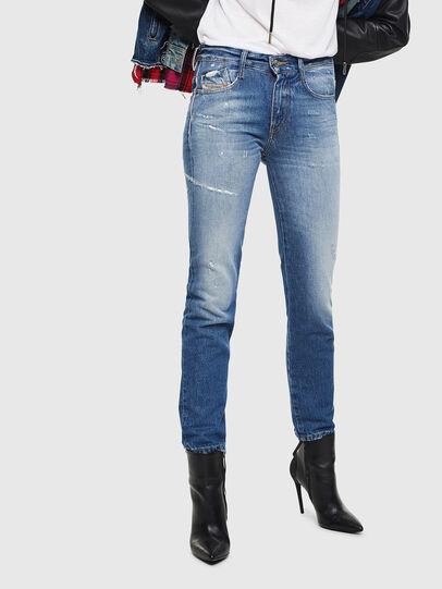 Diesel - D-Rifty 0097B, Blu medio - Jeans - Image 1