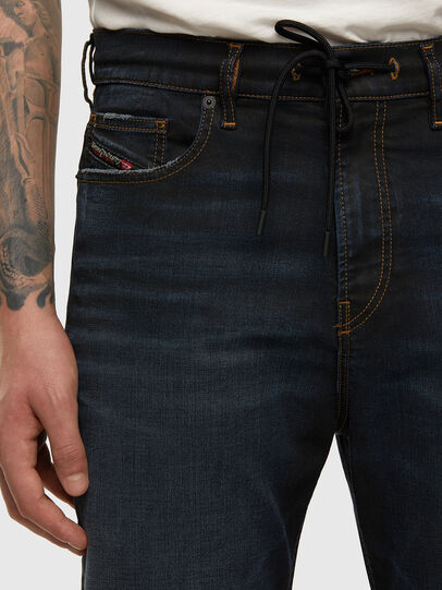 Diesel - D-Vider JoggJeans 009HE, Blu Scuro - Jeans - Image 3