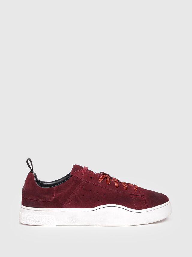 Diesel - S-CLEVER LOW, Rosso Vino - Sneakers - Image 1